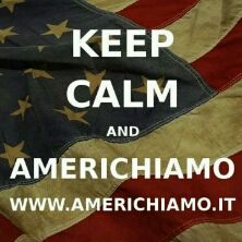 Keep Calm and Americhiamo