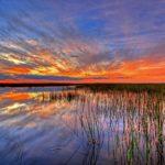 Tramonto sulle Everglades