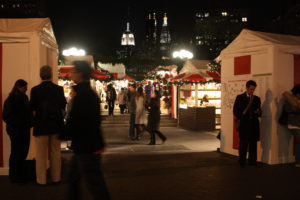 Union Square Holiday Market by Betty Tsang